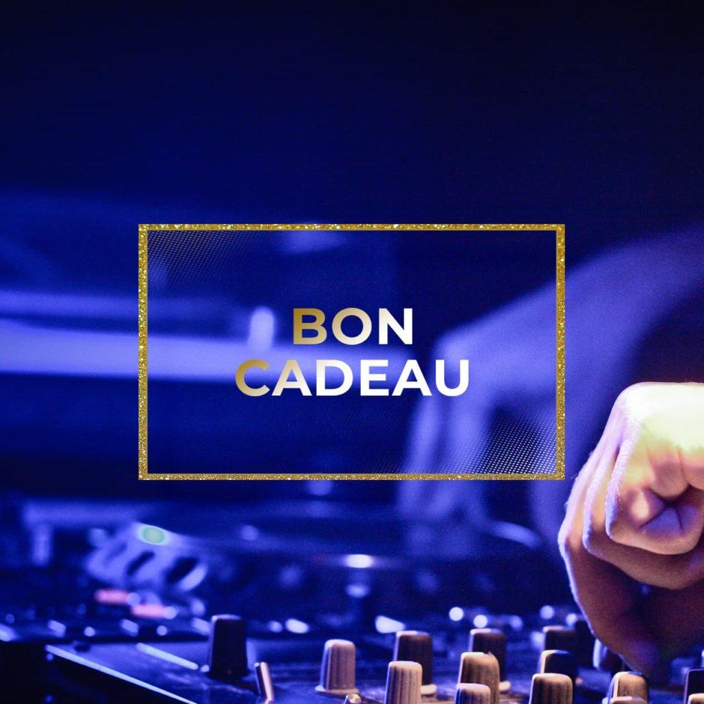 Bon cadeau DJ