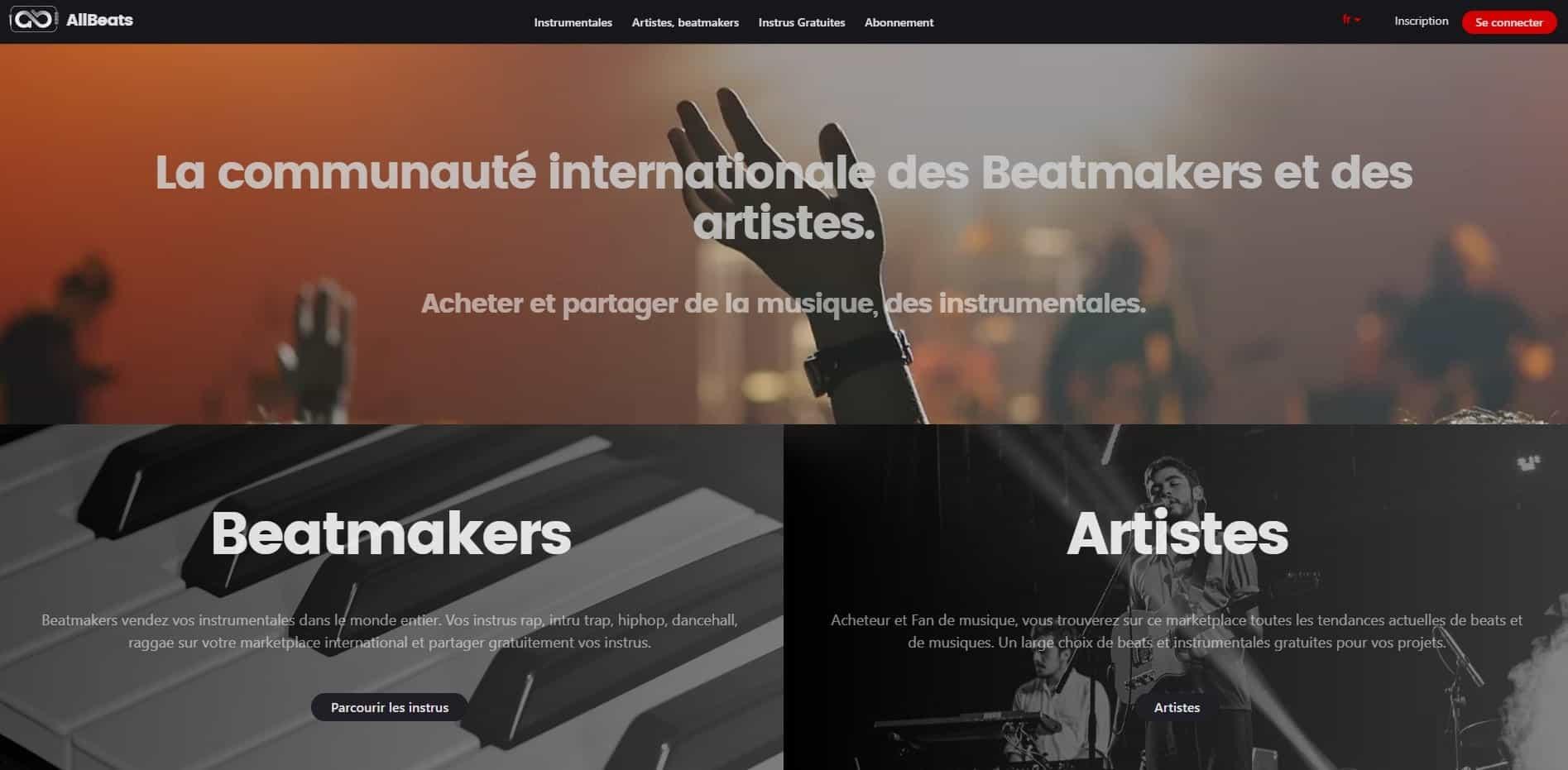 site pour beatmakers