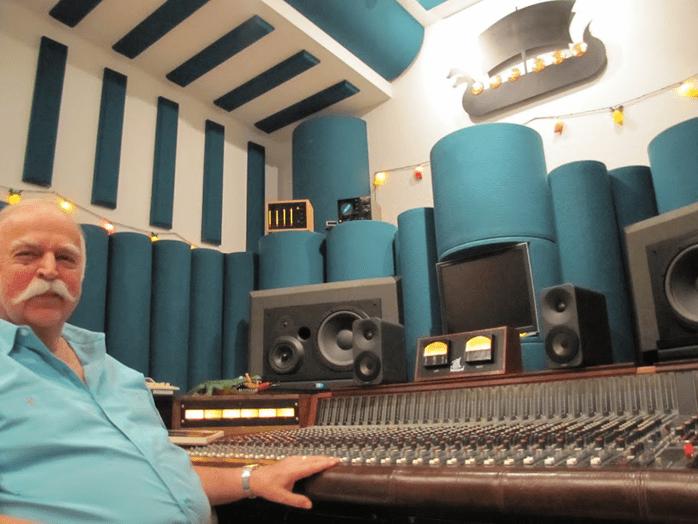 Bruce Swedien dans son studio