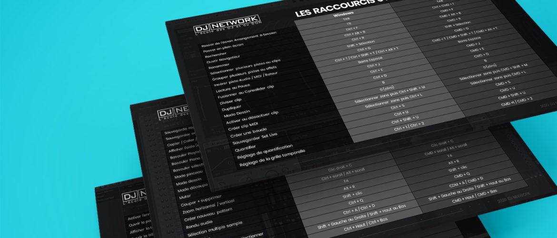 Les raccourcis claviers à connaitre DJ NETWORK